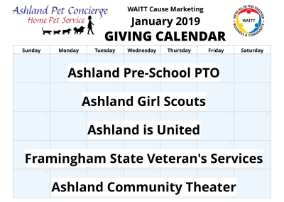 Ashland Pet Concierge - January 2019