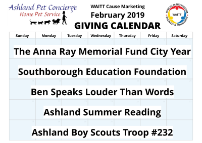 Ashland Pet Concierge - February 2019
