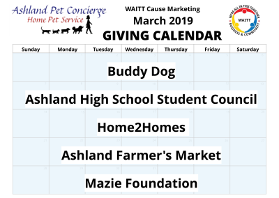Ashland Pet Concierge - March 2019