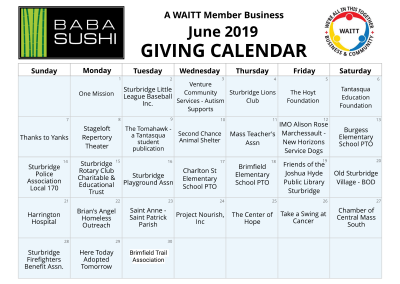Baba Sushi-Sturbrige June 2019