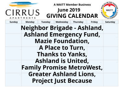 Cirrus Apartments June 2019
