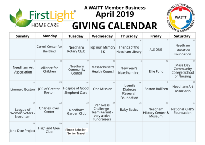 First Light Home Care April 2019