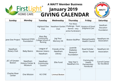 First Light Home Care January 2019