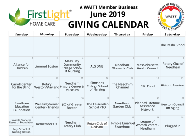 First Light Home Care June 2019