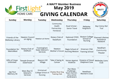 First Light Home Care May 2019