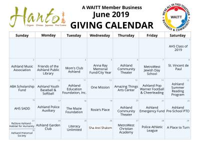 Hanto (Ashland) June 2019