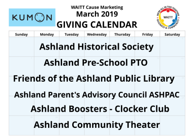 Kumon March 2019