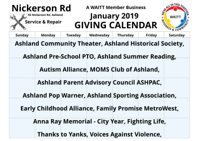 Nickerson Rd Service _ Repair January 2019