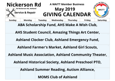 Nickerson Rd Service _ Repair May 2019