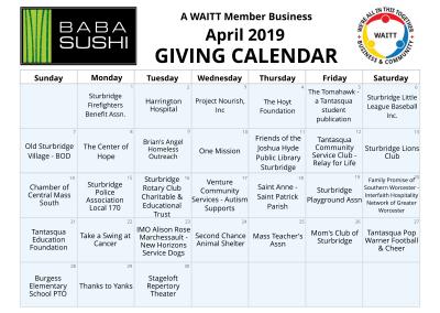 Baba Sushi-Sturbrige April 2019