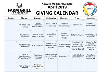 Farm Grill April 2019
