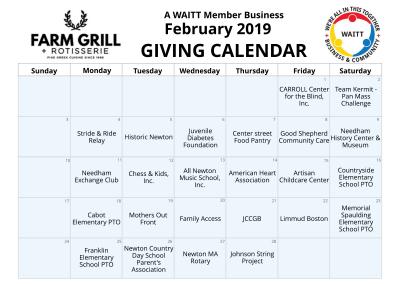 Farm Grill February 2019