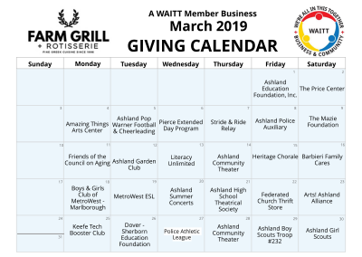 Farm Grill & Rotiserie March 2019