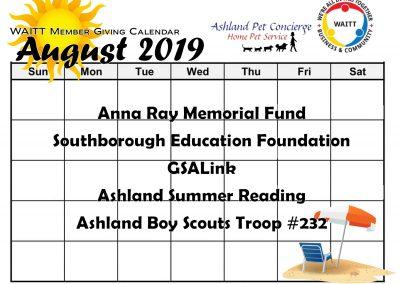 ASHLAND PET AUGUST 2019