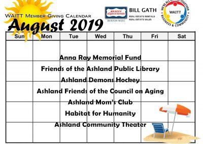 BILL GATH AUGUST 2019