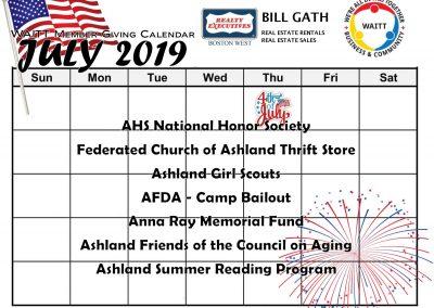 BILL GATH JULY 2019