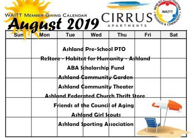 CIRRUS APARTMENTS AUGUST 2019