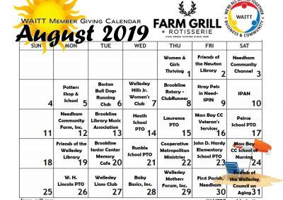 FARM GRILL AUGUST 2019