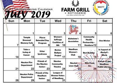 FARM GRILL JULY 2019