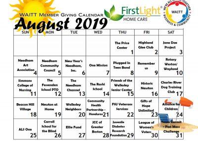 FIRST LIGHT AUGUST 2019