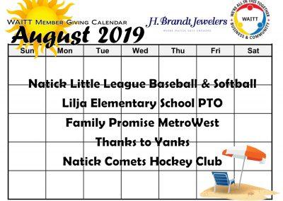 H BRANDT AUGUST 2019