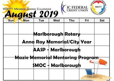 ICFCU AUGUST 2019
