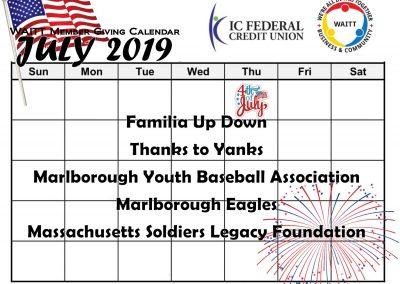 ICFCU JULY 2019