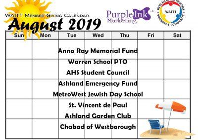 PURPLE INK MARKETING AUGUST 2019