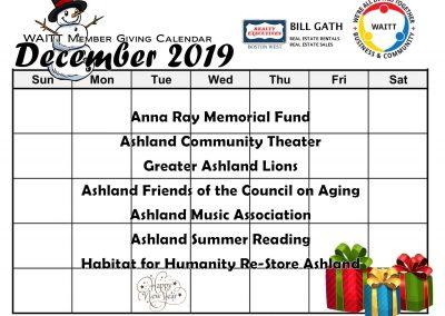 BILL GATH DECEMBER 2019