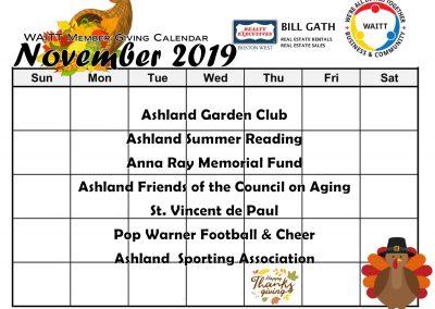 BILL GATH NOVEMBER 2019