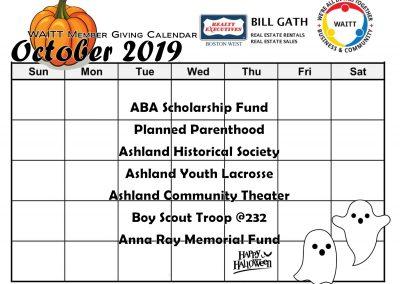 BILL GATH OCTOBER 2019