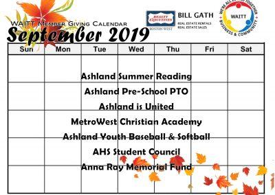 BILL GATH SEPTEMBER 2019