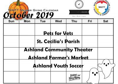 CLOCKTOWN OCTOBER 2019