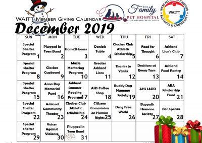 FAMILY PET HOSPITAL DECEMBER 2019