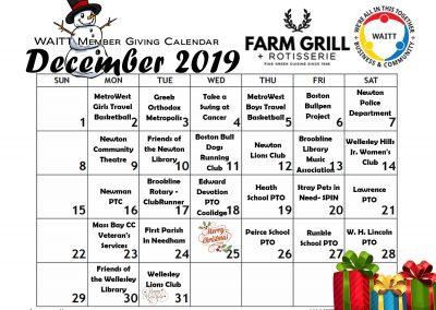FARM GRILL DECEMBER 2019