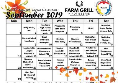 FARM GRILL SEPTEMBER 2019
