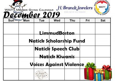 H BRANDT DECEMBER 2019