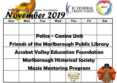 ICFCU NOVEMBER 2019