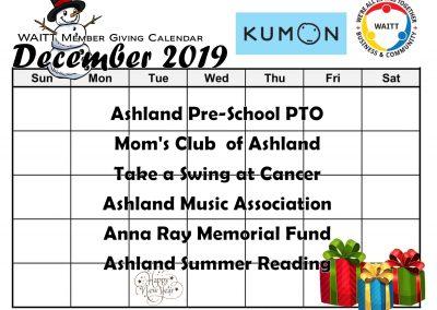 KUMON DECEMBER 2019