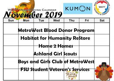 KUMON NOVEMBER 2019
