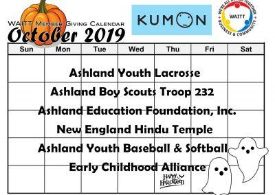 KUMON OCTOBER 2019