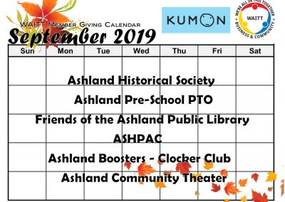 KUMON SEPTEMBER 2019
