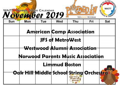 PLUGGED IN NOVEMBER 2019