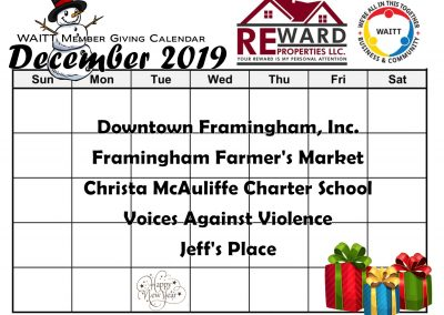 REWARD DECEMBER 2019